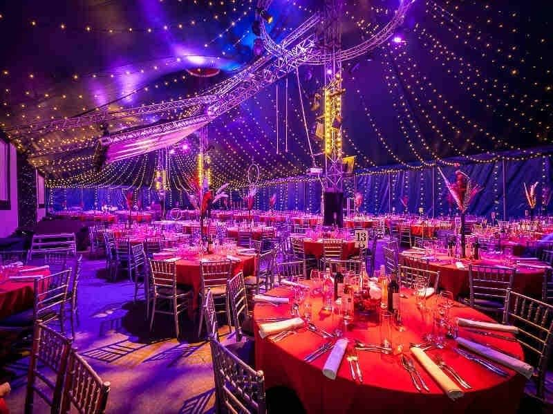 bloomsbury big top christmas party