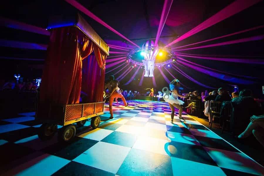 Dream Circus Christmas Party